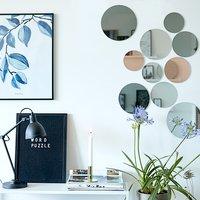 Mirror KALVEHUSE 10 pcs/pk