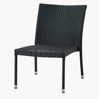 Lounge chair JERLEV black