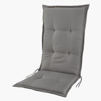 Cushion recliner chair SAKSFJED l.gry