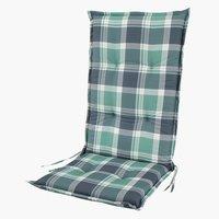 Hagepute FEDDET reg.bar stol grønn/grå