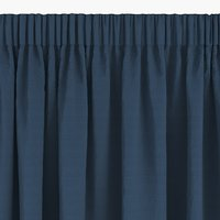 Curtain AUSTRA 1x140x245 velvet blue