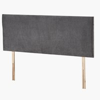Headboard 135x50 H10 PLAIN Grey-45