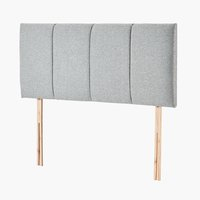 Headboard 135x58 H50 STITCHED Grey-39