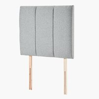 Headboard 90x76 H50 STITCHED Grey-39
