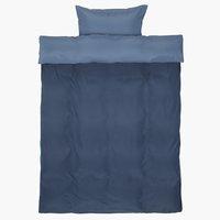 Posteljnina CATERINA 140x200 modra