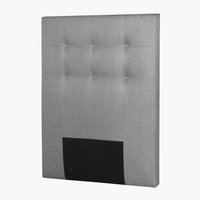 Sengegavl PLUS H80 90 knapper lys grå