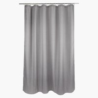 Shower curtain VIBBLE 180x200 grey