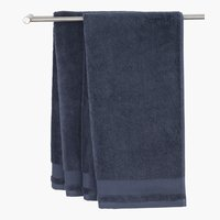 Hand towel NORA 50x100 dark blue
