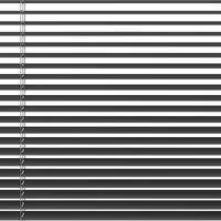 Persienne aluminium 90x160cm grå