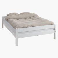 Bed frame VESTERVIG S.DBL white