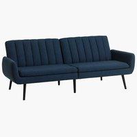 Sofa bed HARNDRUP dark blue