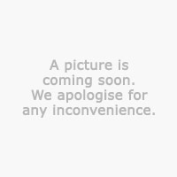 Coffee table JESBY D80 w/shelf white