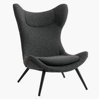 Fotelja DAMSHOLTE siva