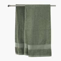 Bath towel KARLSTAD army green