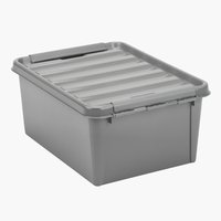 Storage box SMARTSTORE 15 w/lid recycled