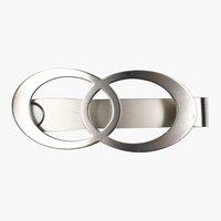 Държач за завеса SIRIUS с магнит сребро