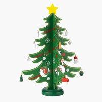 Kerstboom SIF Ø20xH29cm m/decoratie