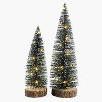 Kerstboom VERDIT H30cm m/LED