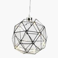 Glazen bal HANSKE Ø15cm m/LED