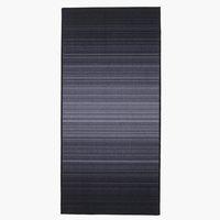Ковер GULVEIS 67x140 см серый