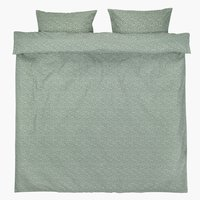 Duvet cover HANNA DBL green