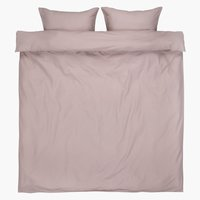 Duvet cover ELLEN DBL light purple