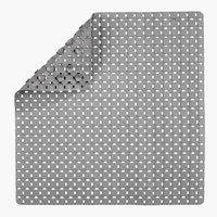 Duschmatte VITTINGE 55x55 grau