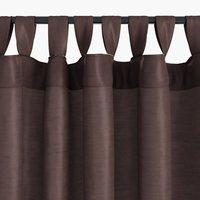 Завеса LUPIN 1x140x300 коприн.вид лилава