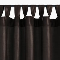 Zavjesa LUPIN 1x140x300 tamno smeđa