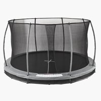 Trampoline SUMMEN D396 inground grey