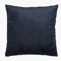 Cushion VILLMORELL 45x45 corduroy d.blue
