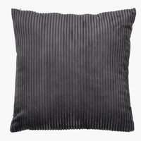Cushion VILLMORELL 45x45 corduroy d.grey
