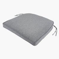 Cojín de asiento UDSIGTEN gris claro