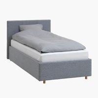 Рамка за легло EGERSUND 90x200 св.сива