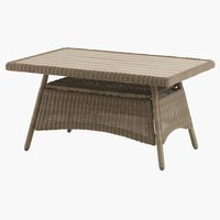 Table lounge FALKENBERG l81xL124 nature