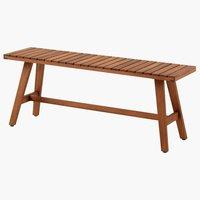Πάγκος GANGESBRO Π110xΒ30 σκληρό ξύλο