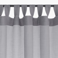 Curtain ORUST 1x140x300 grey