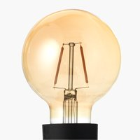 Light bulb TORE gold E27 G80 100 lumen