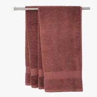 Badehåndkle KARLSTAD 70x140 plomme