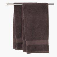 Μεγ.πετσέτα μπάνιου KARLSTAD καφέ
