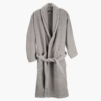 Bathrobe BULLMARK S/M grey