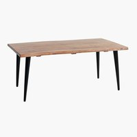 Table basse OKSLUND 60x110 naturel