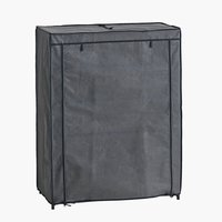 Shoe cabinet DAMHUS 4 shlv. dark grey