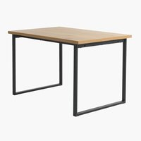 Dining table AABENRAA 80x120 oak/black