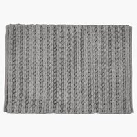 Bath mat EDANE 60x90 grey