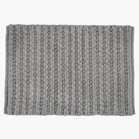 Bademåtte EDANE 60x90 grå