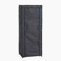 Wardrobe DAMHUS 60x150 dark grey