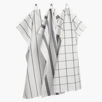 Tea towel FLEKKMURE 50x70 3 pack