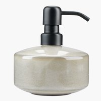 Soap dispenser KISA glazed