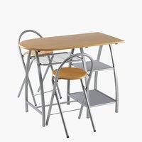Комплект VEJSTRUP стіл + 2 стільці